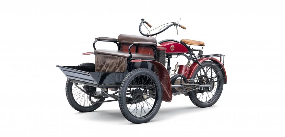 Príbehy menej známych modelov Škody: Trojkolky Laurin & Klement LW