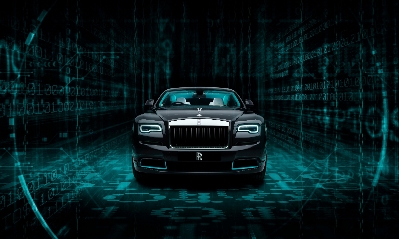 Šifru Rolls Royce Wraith Kryptos poznajú len dvaja ľudia. Vylúštiť ju majú zákazníci