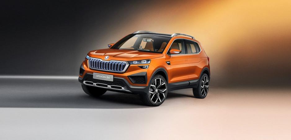 Škoda expanduje do Indie. Vision IN je prvý koncept pre tamojší trh
