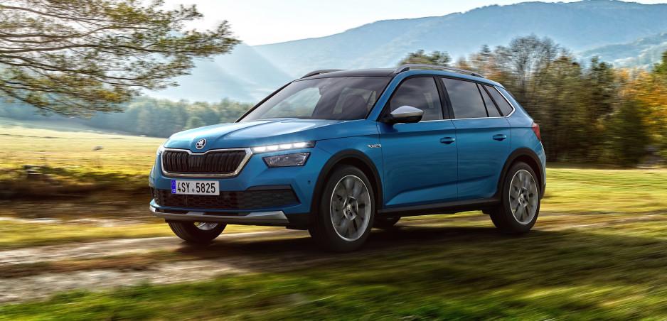 Škoda Kamiq prichádza v novej verzii Scoutline