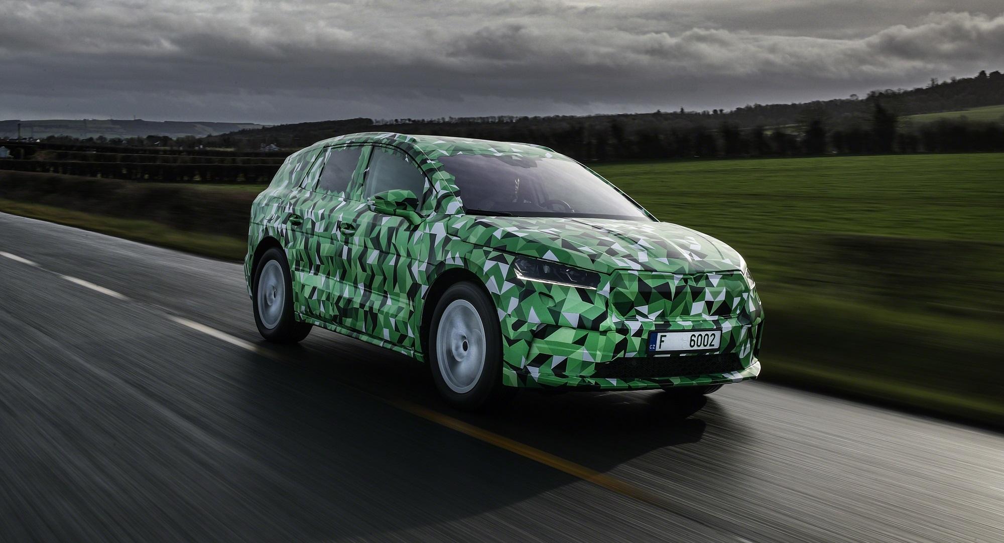 Škoda prezradila detaily o elektromobile Enyaq iV. Bude dlhší ako Kodiaq