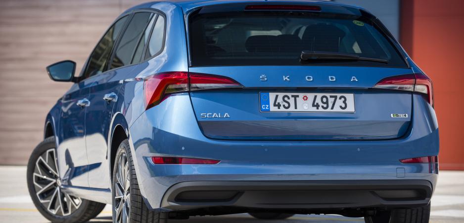 Škoda Scala začne jazdiť na CNG už v tomto roku