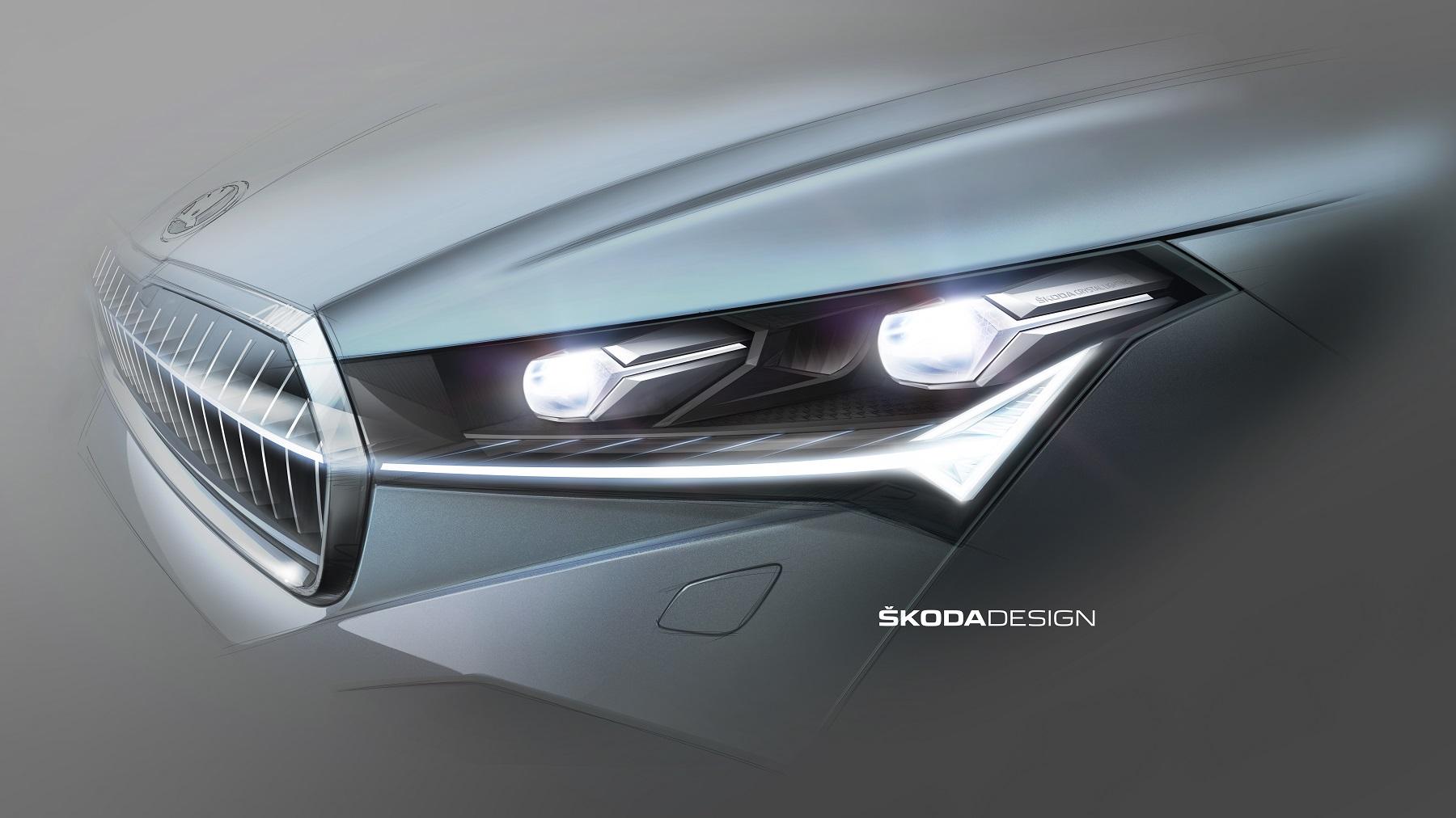 Škoda ukázala nové svetlá pre elektromobil Enyaq iV