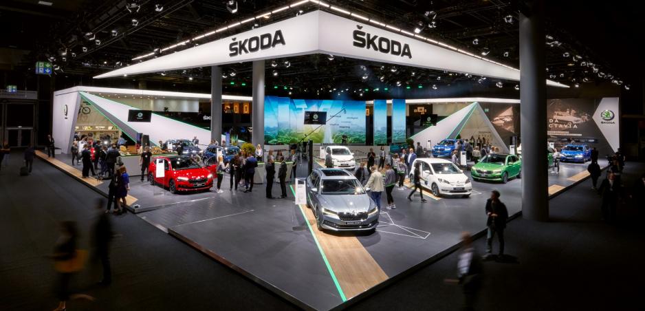 Škoda ukázala vo Frankfurte už známe novinky. Dominuje im elektrika a CNG