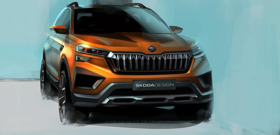 Škoda Vision IN sa ukazuje na prvých skiciach