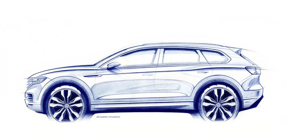 Sledujte s nami naživo odhalenie Volkswagenu Touareg