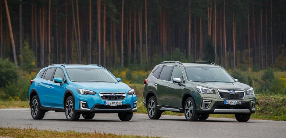 Subaru zverejnilo slovenské ceny Foresteru a XV