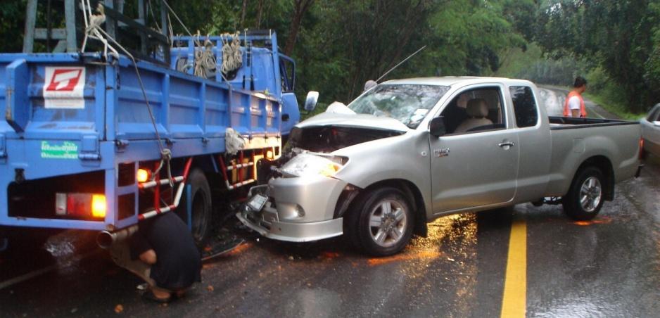 Takto to vyzerá, keď kamiónu zlyhajú brzdy