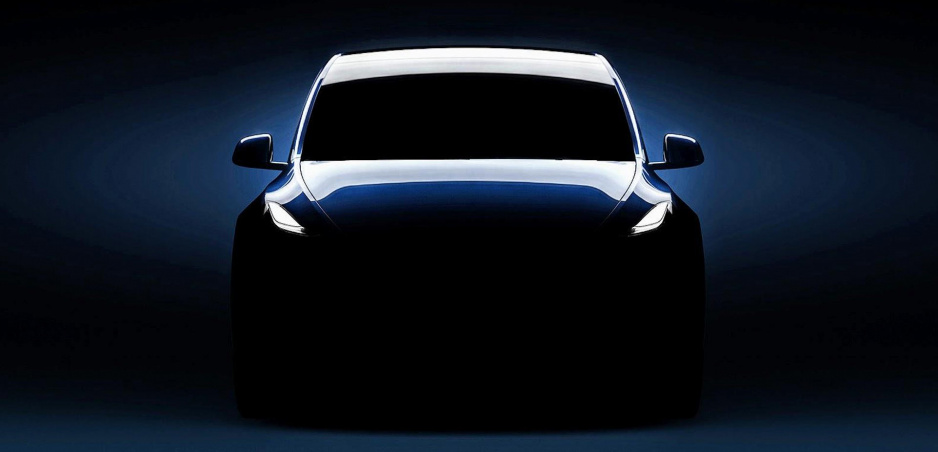 Tesla zverejnila ďalšiu fotku Modelu Y. Predstaví ho vo štvrtok