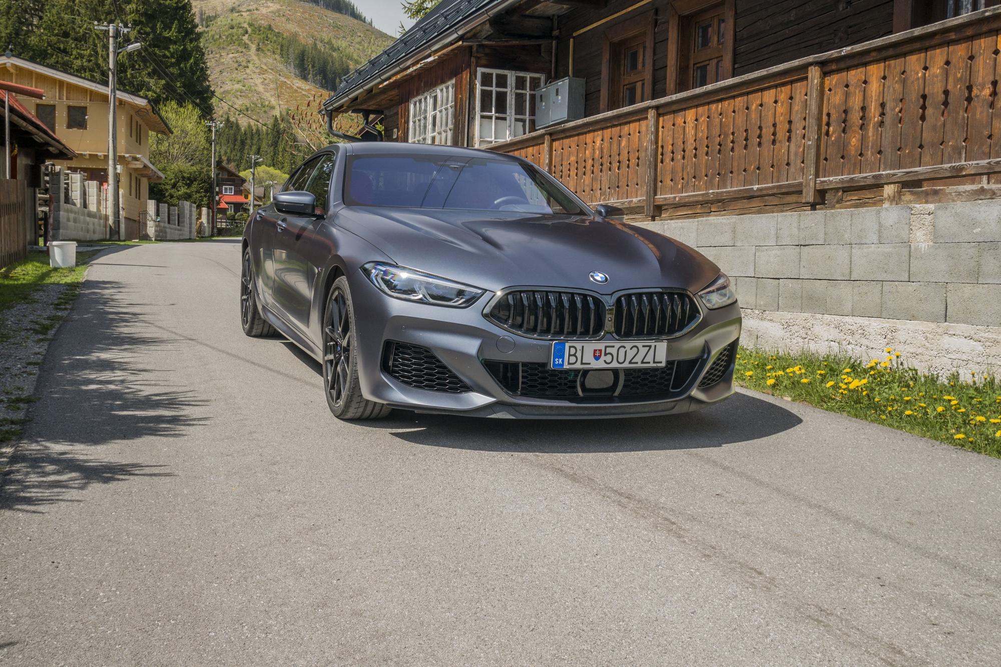 Test BMW M850i Gran Coupé: Elegantne zabalená rýchlosť na kolesách