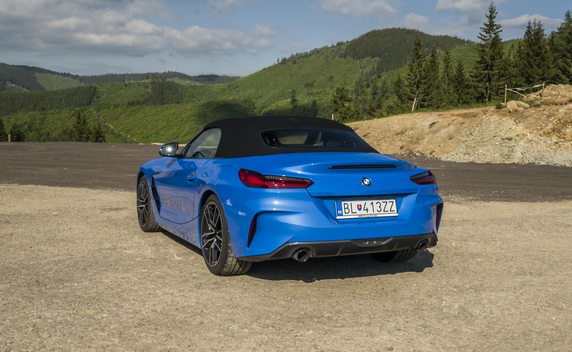 Test: BMW Z4 30i umocňuje zážitok otvorenou strechou