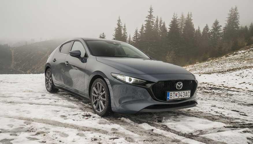 Test: Mazda3 je krásna. Rozhodne nie je tuctová, ale ani príliš nápadná