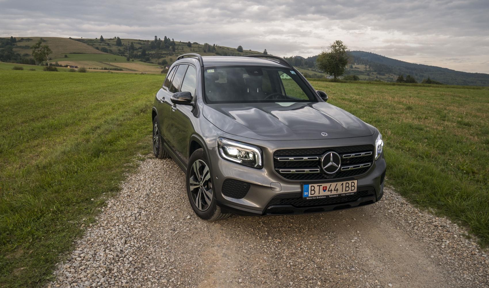 Test: Mercedes GLB 200 ponúka veľký priestor v malom balení