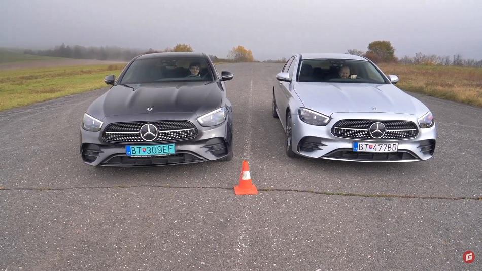 Test: Naftový Mercedes E 220d vyzval plug in hybrid E220de