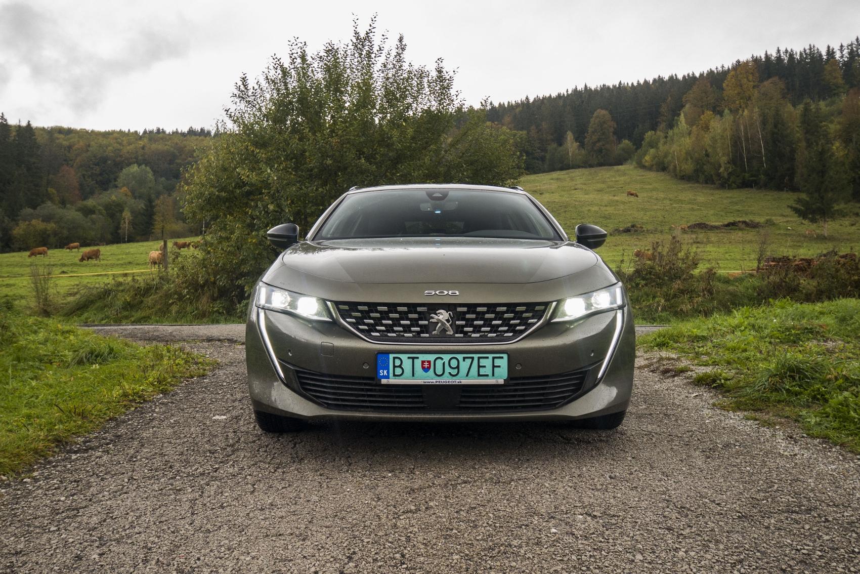 Test: Peugeot 508 SW plug in hybrid je veľmi dobré auto, ale oplatí sa?