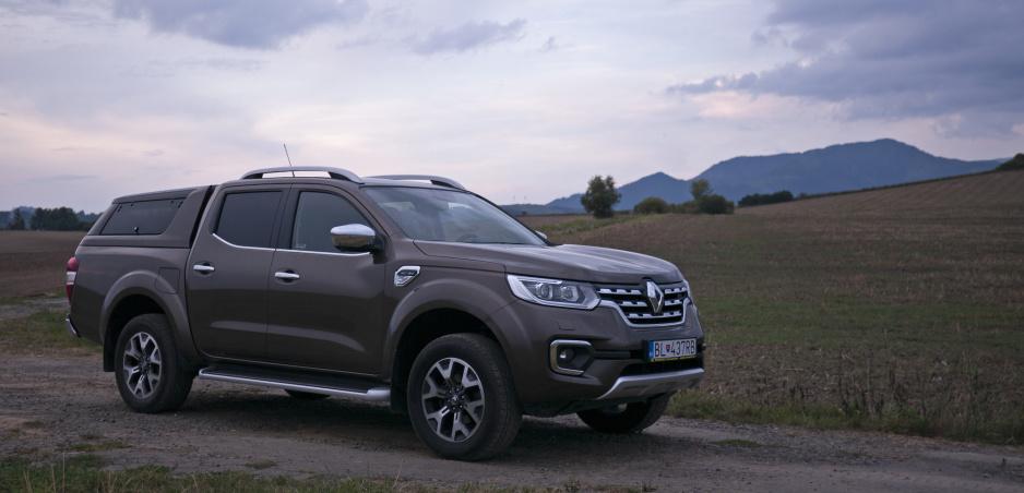 Test Renault Alaskan: Americký sen v európskom šate