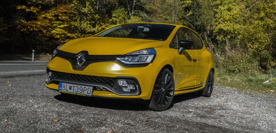 Test Renault Clio R.S Trophy: Žltý kráľ zákrut