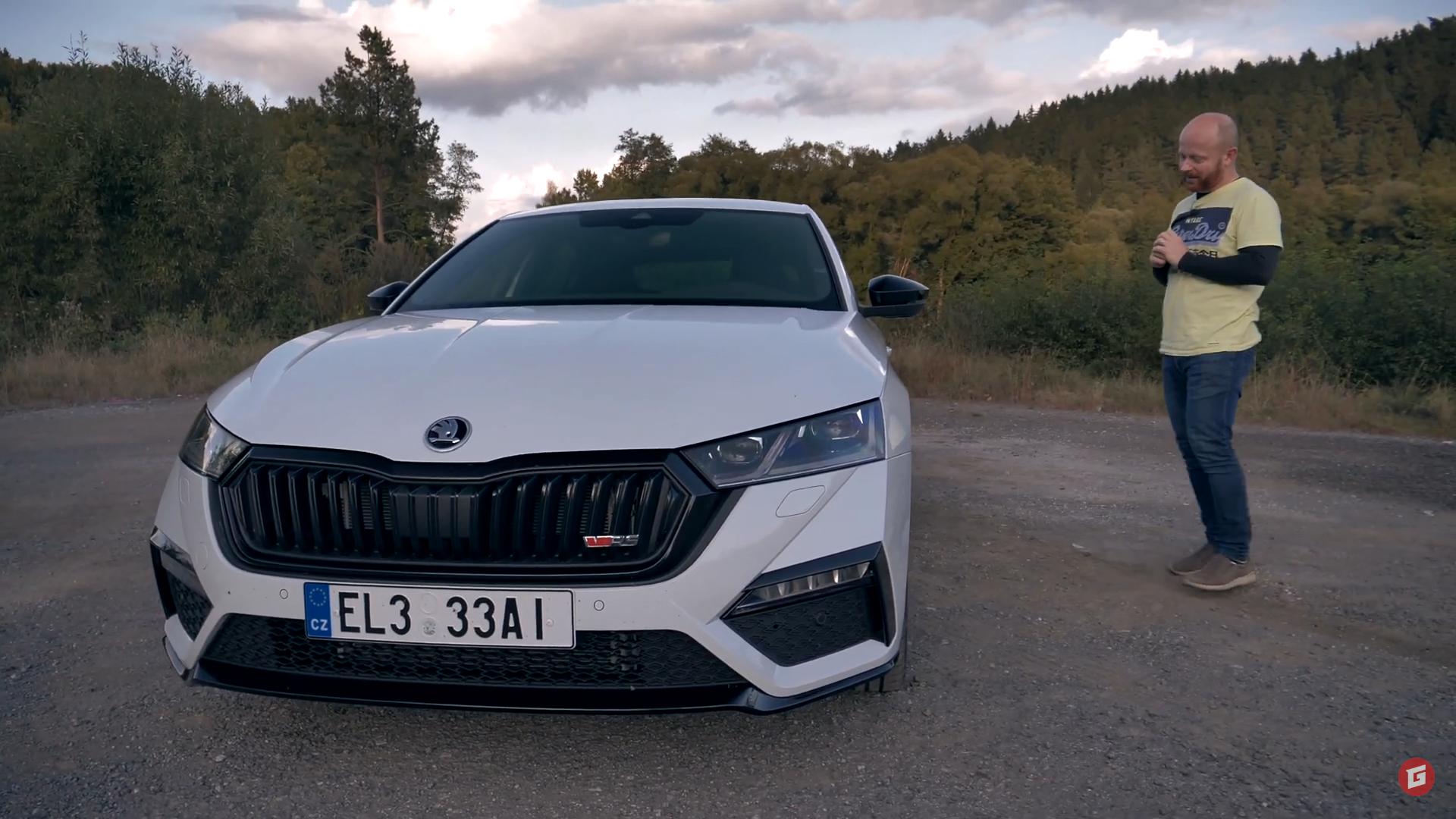 """Test: Škoda Octavia RS iV je aj """"do koča aj do voza"""""""