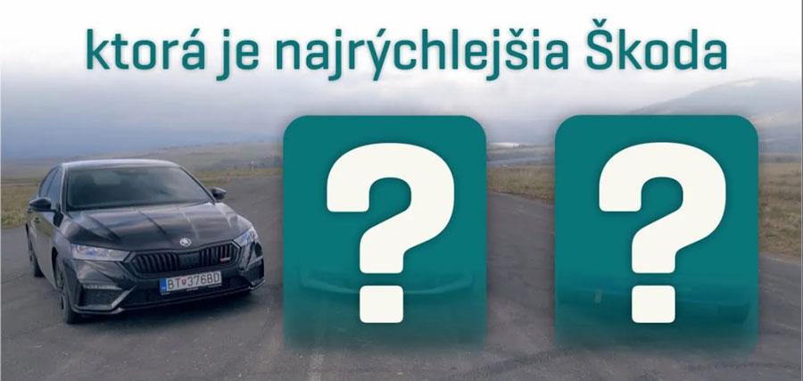 Test Škoda Octavia RS: Hľadali sme najrýchlejšiu Škodu v 125-ročnej histórii