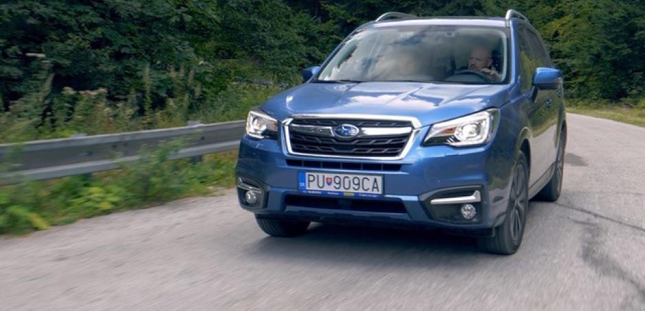Test: Subaru Forester sme poslednýkrát otestovali s klasickým motorom boxer