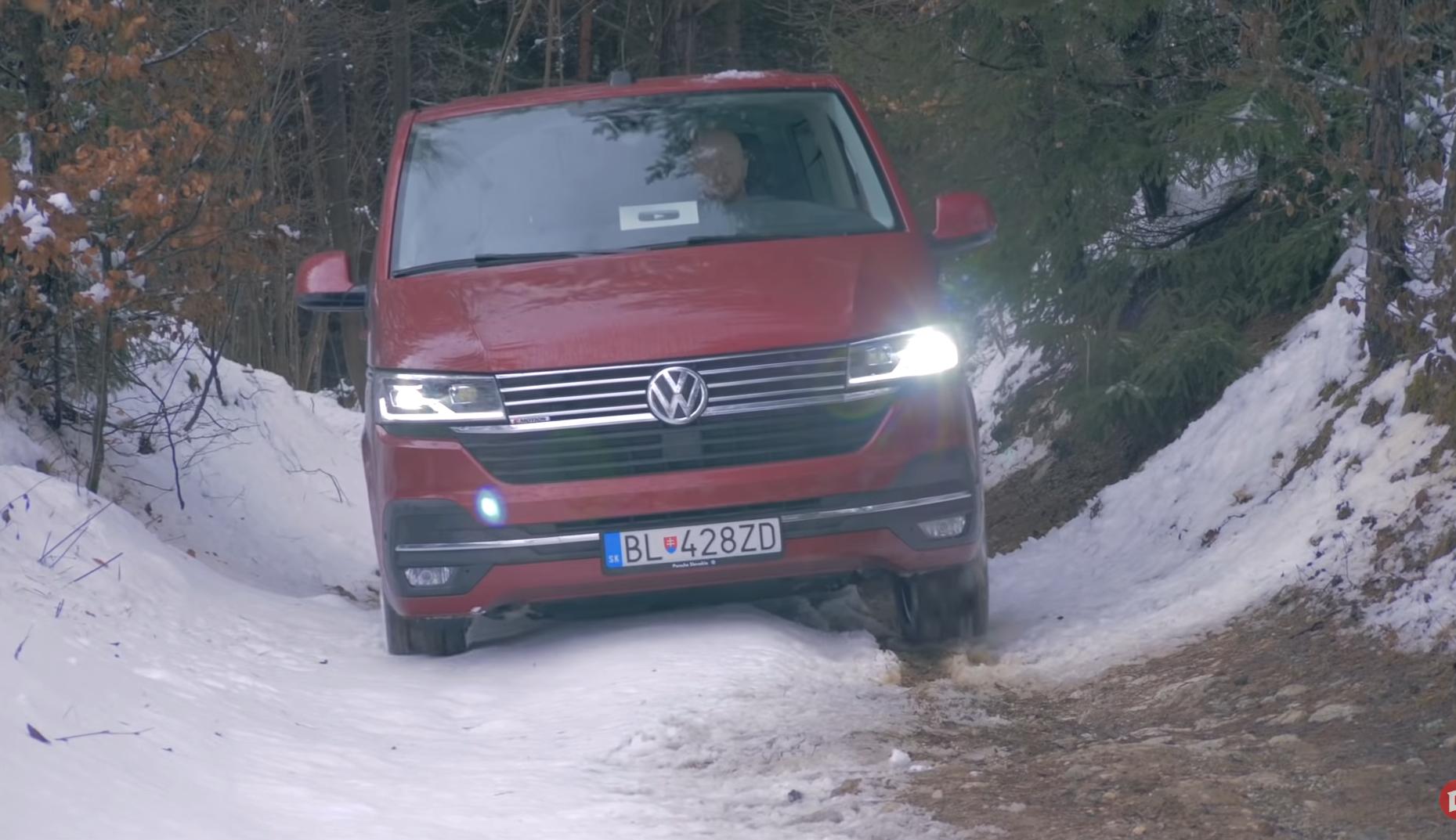 Test Volkswagen Multivan T6.1: Dve turbá a príjemnejší podvozok