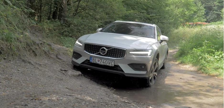 Test: Volvo V60 Cross Country sme otestovali a natočili mu krátku reklamu