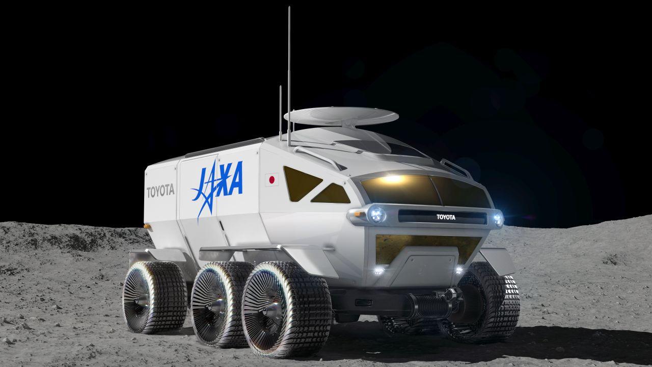 Toyota mieri na Mesiac - vytvára Lunar Cruiser