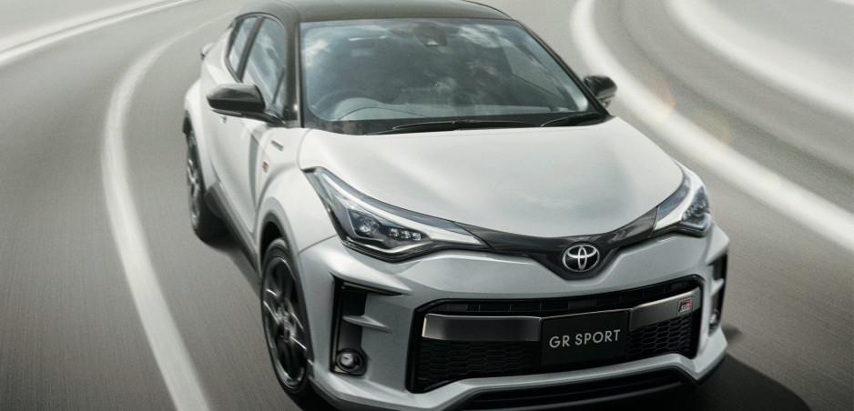 Toyota pripravuje športovú verziu crossoveru C-HR