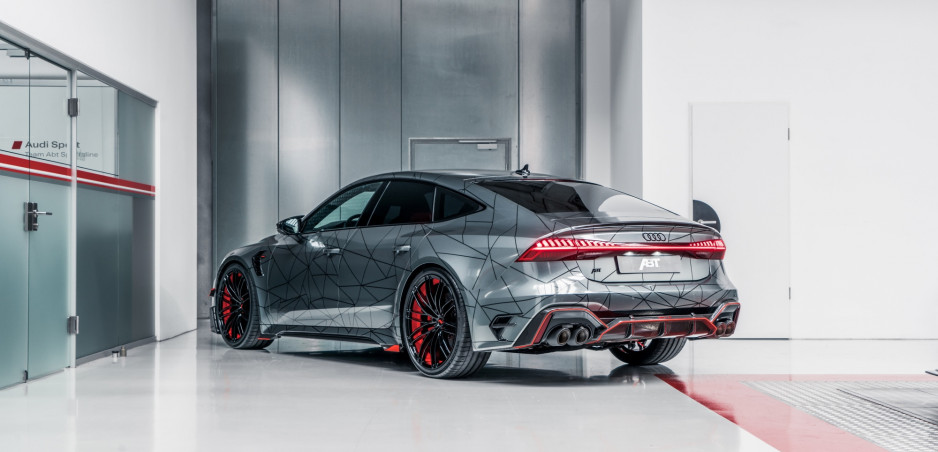 Úprava Audi RS 7 sa naozaj vydarila