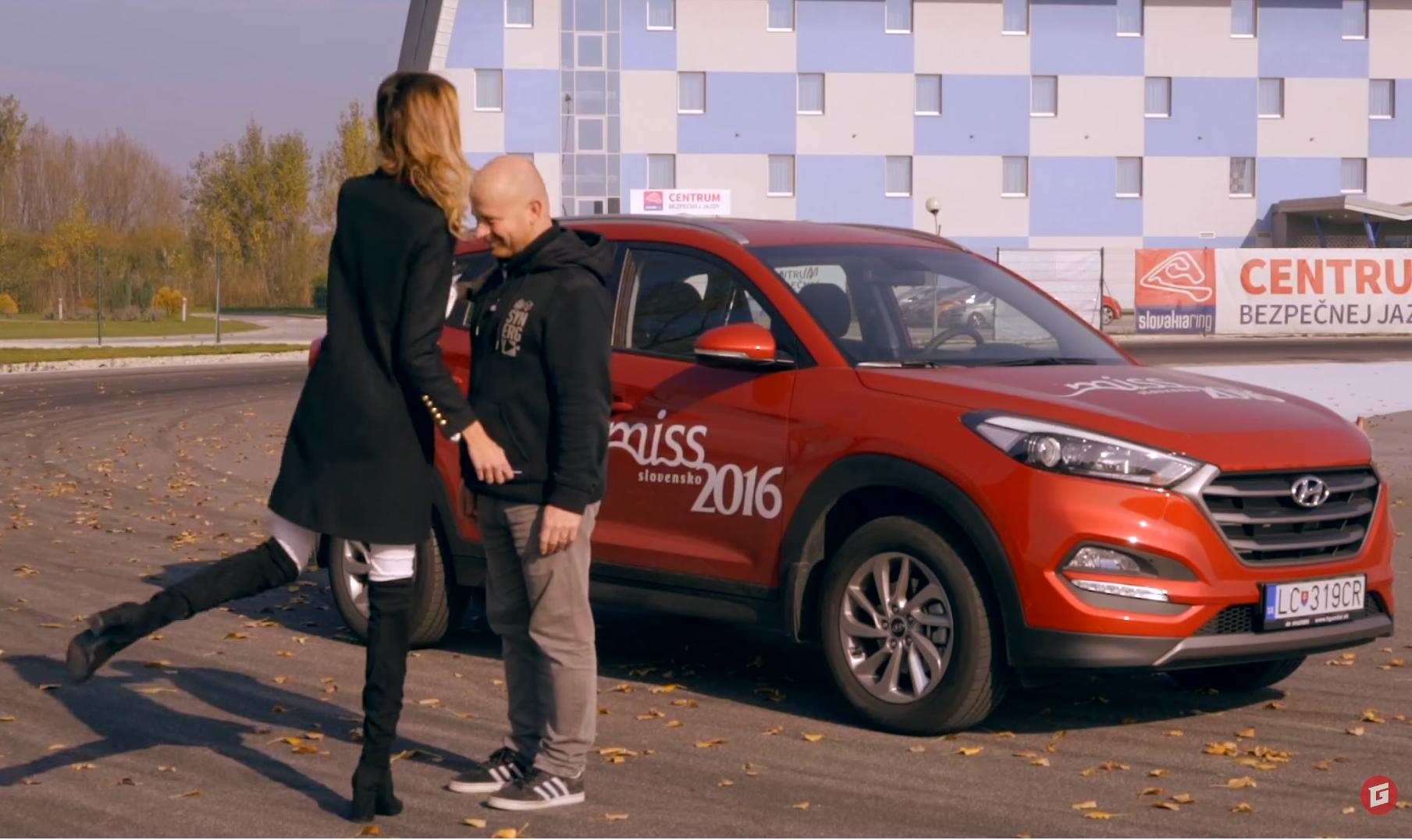 Videoautoškola s Miss 2016: Parkovanie VI.
