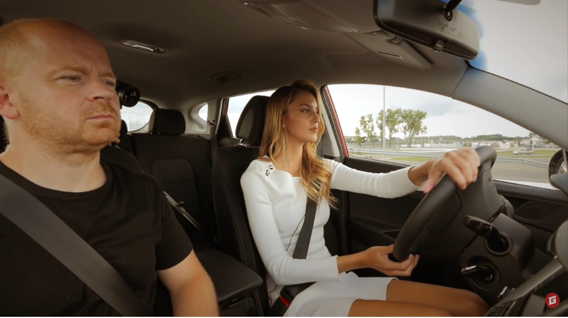 Videoautoškola s Miss 2016: Točenie volantom III.