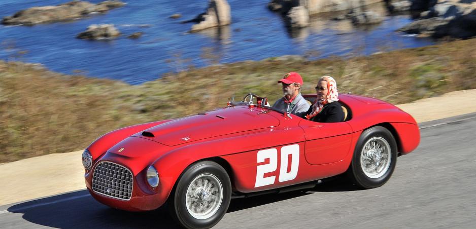 Víťazné Ferrari z Mille Miglia 1949 sa predvedie verejnosti