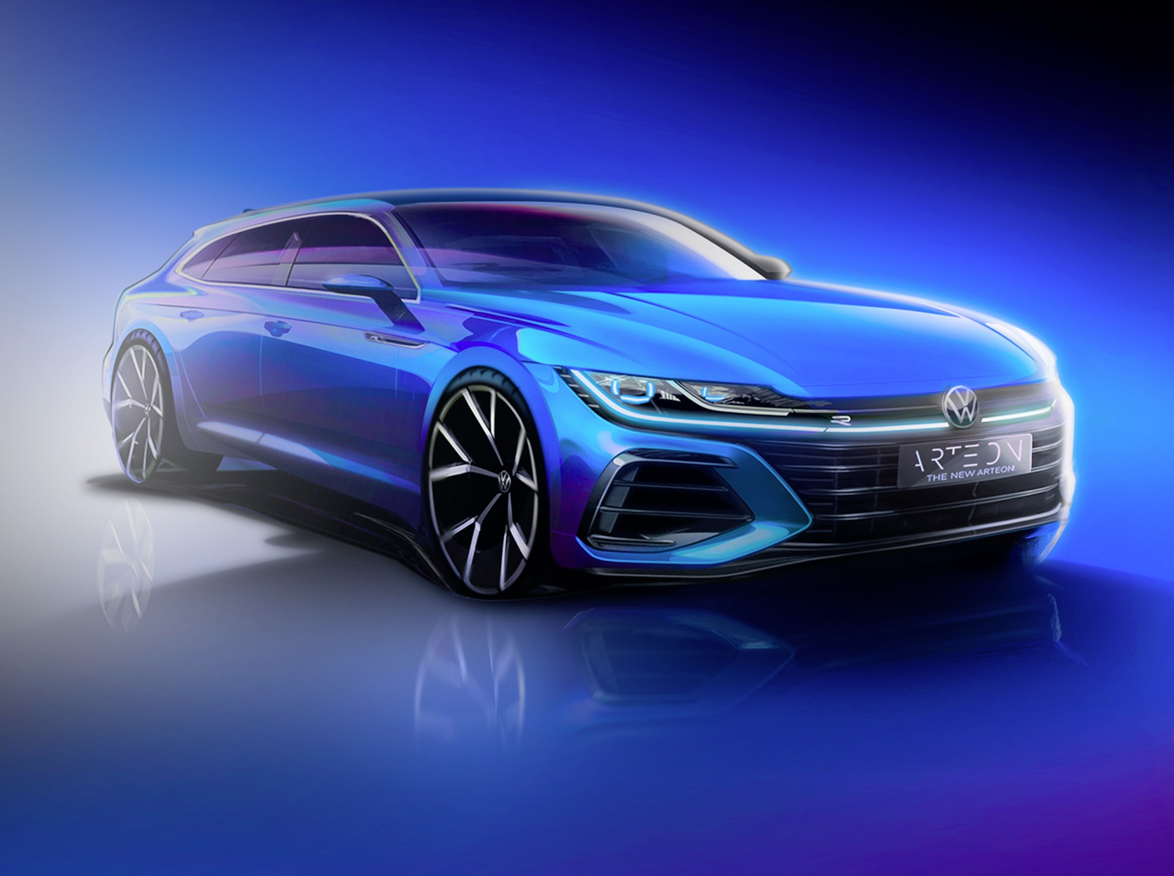 Volkswagen Arteon príde aj vo verzii Shooting Brake