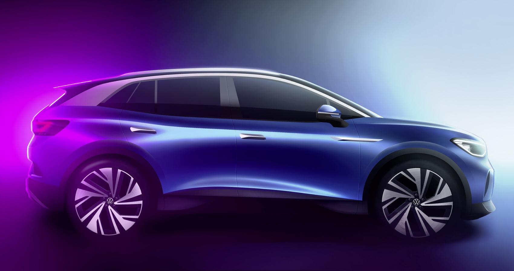 Volkswagen sa chváli priestorom v elektromobile ID.4. Vzhľadom interiéru neprekvapil