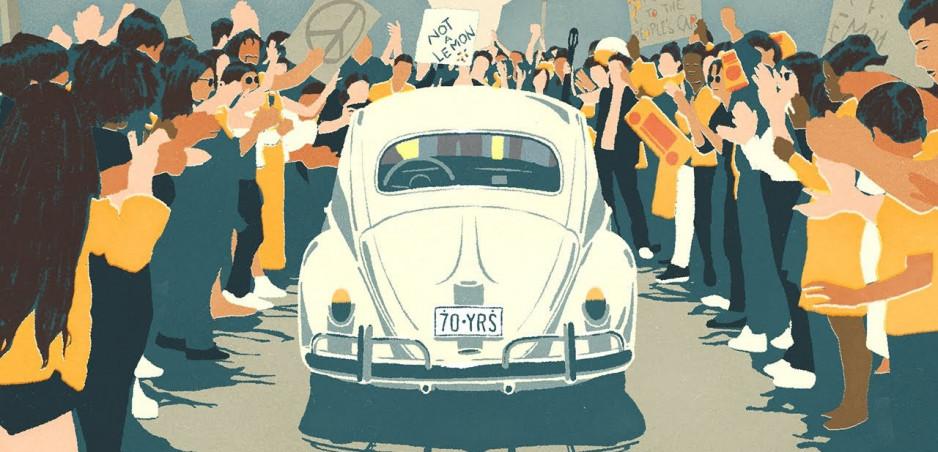 Volkswagen sa s Chrobákom rozlúčil posledný raz v dojímavom videu