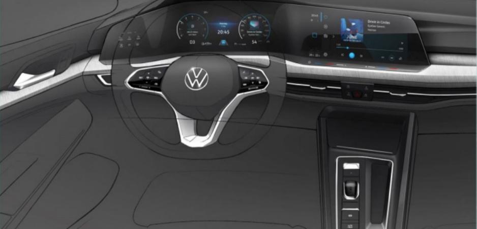 Volkswagen sa zatiaľ novým Golfom nechváli. Pozrite si aspoň prvé skice