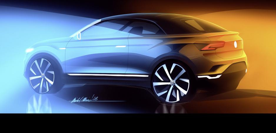 Volkswagen spraví z modelu T-Roc dvojdverový kabriolet