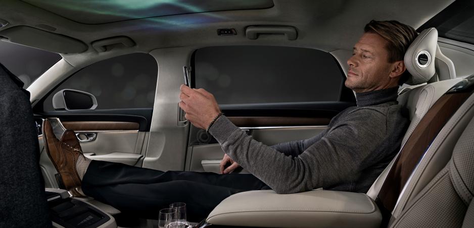 Volvo chce luxusným interiérom útočiť na zmysly pasažierov