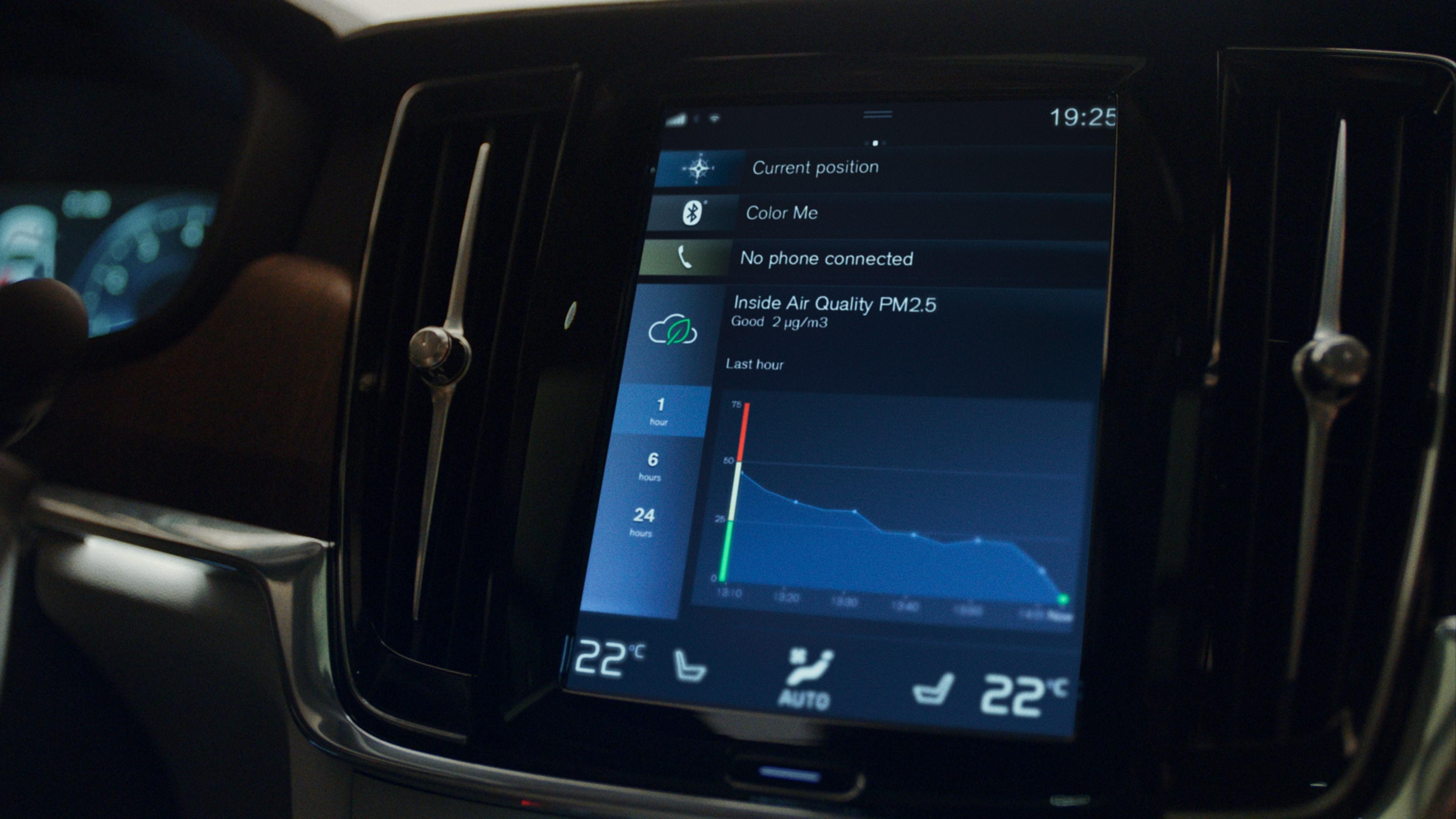 Volvo prišlo s technológiou čistenia vzduchu v aute