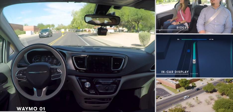 Vozidlá spoločnosti Waymo už jazdia bez šoférov