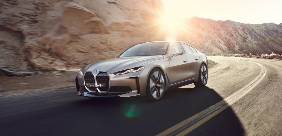 Vypočujte si zvuk nového elektrického BMW i4
