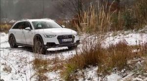 Aud A4 Allroad: Zima, hlina, tvrdý test.