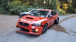 Ako rozbiť nové Subaru WRX STI nám vo videu predviedol čerstvý majiteľ