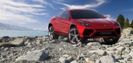 Prvé SUV od Lamborghini zachytené na kamere