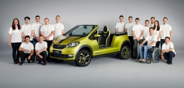 Škoda Element je elektrickou buginou z dielne študentov