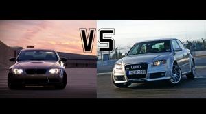 Audi RS4 vs. BMW M3: Akcia plná emócií