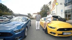 Sajfa a Truhlík prevetrali stádo koní pod kapotou legendárneho Fordu Mustang
