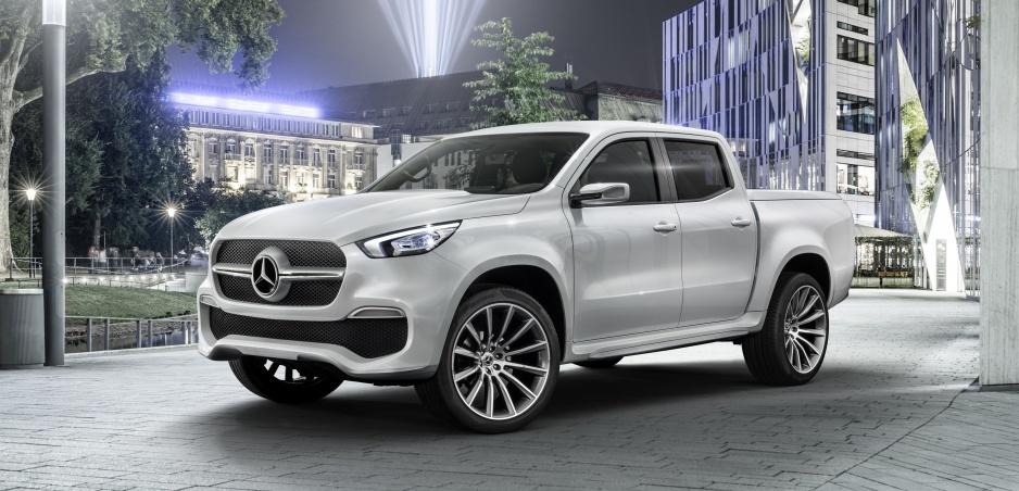 Sledujte s nami preméru pickupu Mercedes triedy X