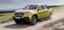 Mercedes vstupuje triedou X do sveta luxusných pickupov