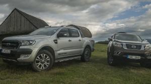 Test: Ford Ranger a Nissan Navara, pracanti so štýlovou výbavou